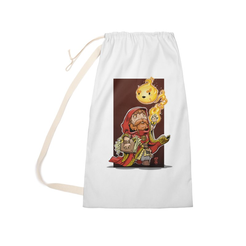 Pyromancer Accessories Laundry Bag Bag by Little Ninja Studios