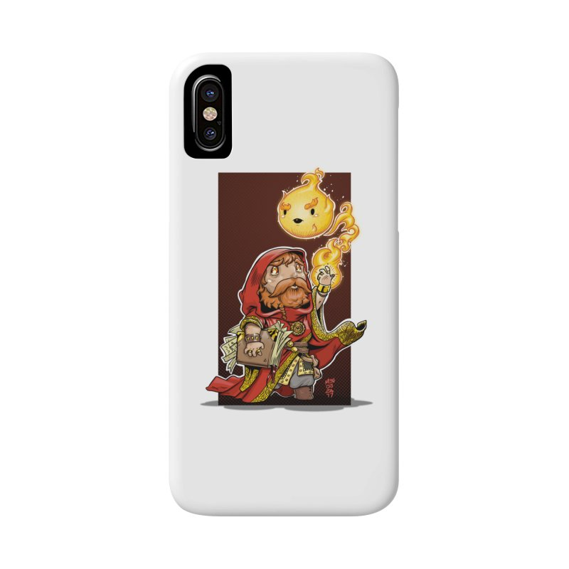 Pyromancer Accessories Phone Case by Little Ninja Studios, LLC