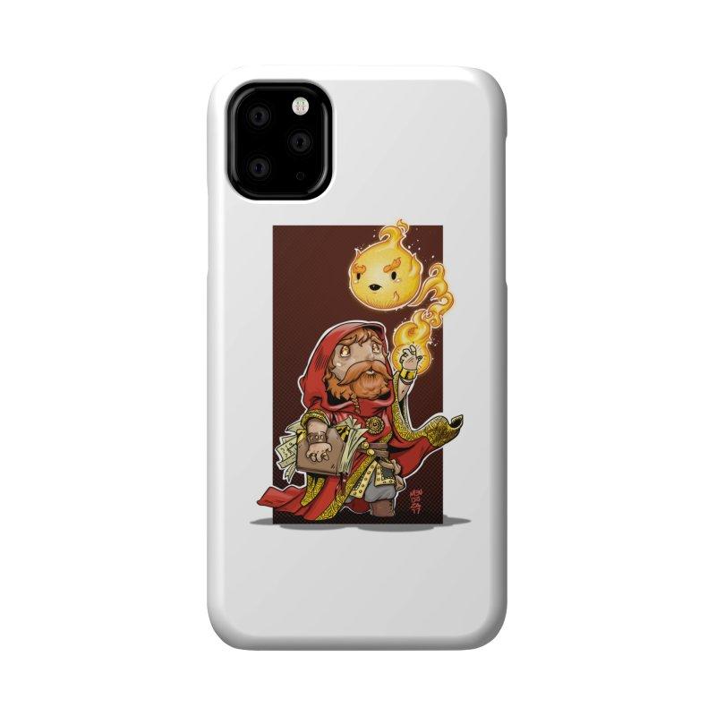 Pyromancer Accessories Phone Case by Little Ninja Studios, LLC