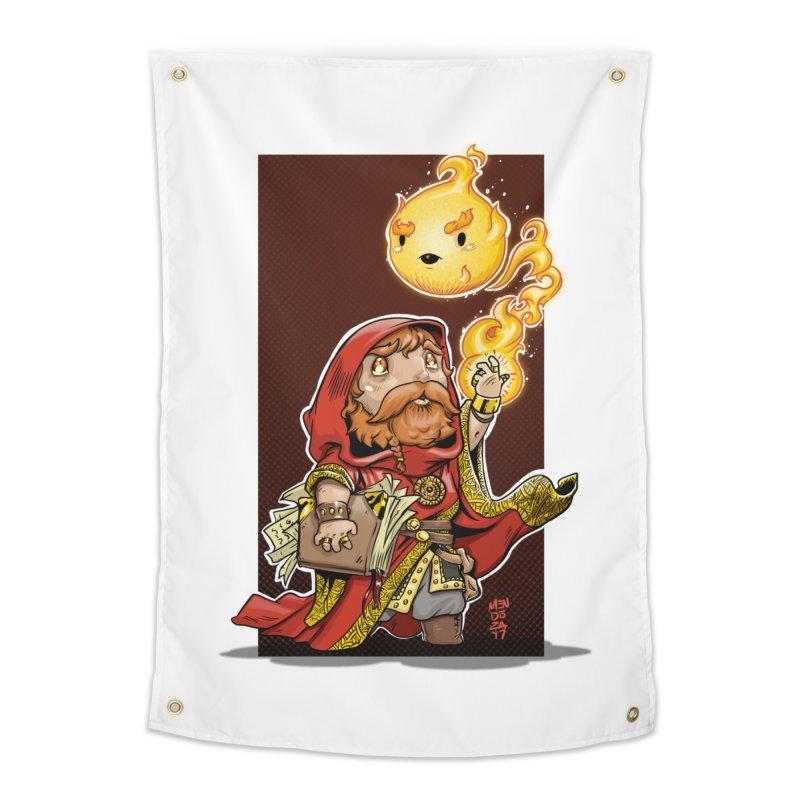 Pyromancer Home Tapestry by Little Ninja Studios