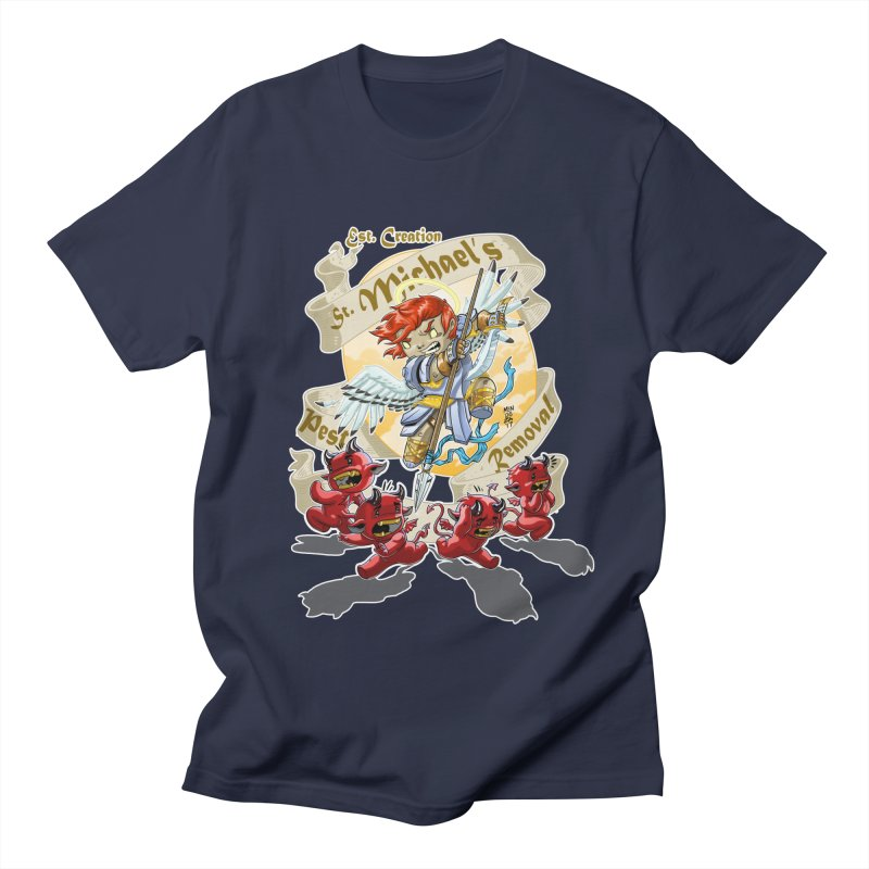 St. Michael's Pest Removal Women's Regular Unisex T-Shirt by Little Ninja Studios, LLC