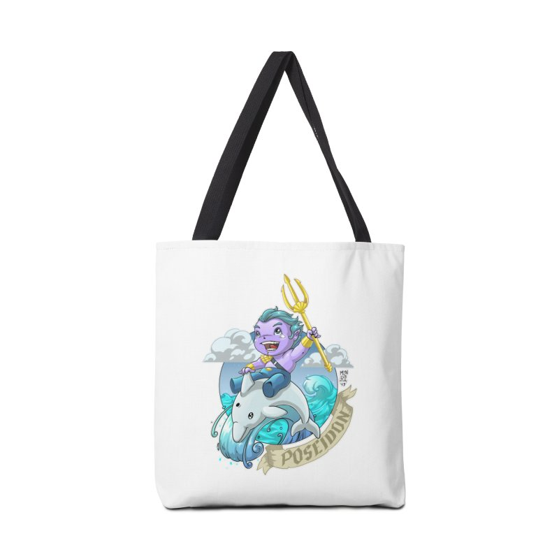 Poseidon! WEEEEEEE!!!! Accessories Bag by Little Ninja Studios, LLC