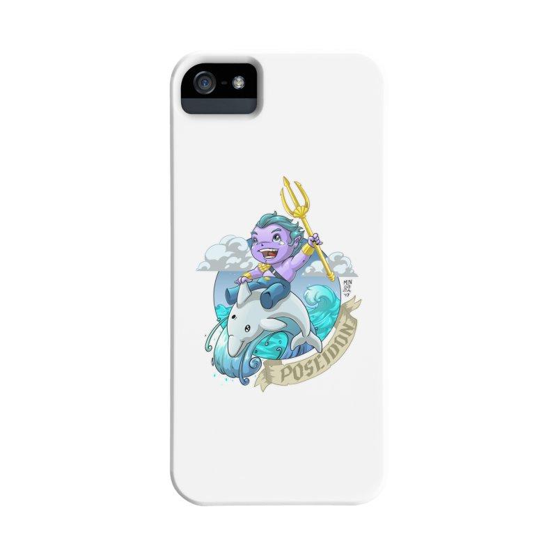 Poseidon! WEEEEEEE!!!! Accessories Phone Case by Little Ninja Studios, LLC
