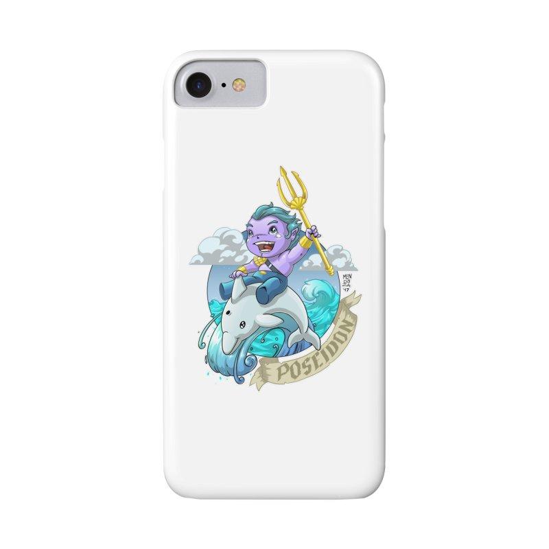 Poseidon! WEEEEEEE!!!! Accessories Phone Case by Little Ninja Studios