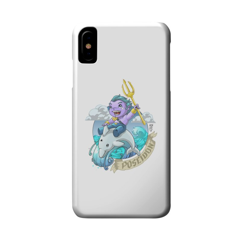 Poseidon! WEEEEEEE!!!! Accessories Phone Case by Little Ninja Studios