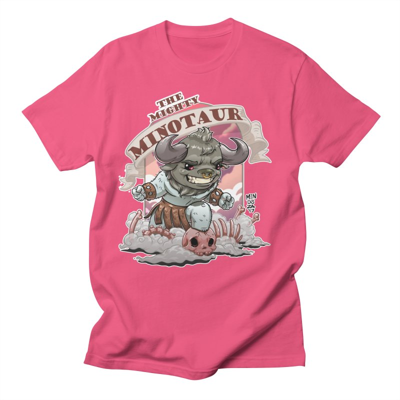 The Mighty Minotaur Women's Regular Unisex T-Shirt by Little Ninja Studios, LLC