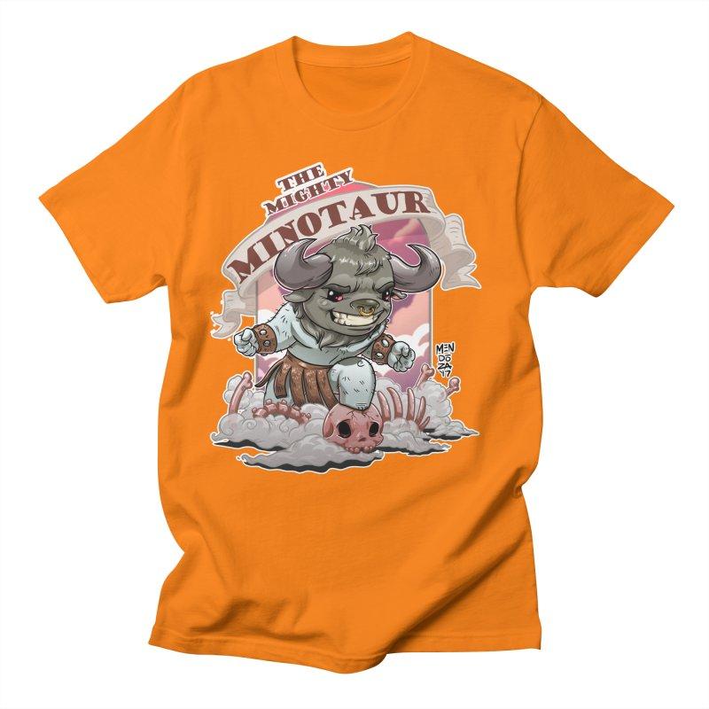 The Mighty Minotaur Women's Regular Unisex T-Shirt by Little Ninja Studios, LLC