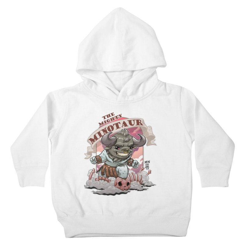 The Mighty Minotaur Kids Toddler Pullover Hoody by Little Ninja Studios, LLC