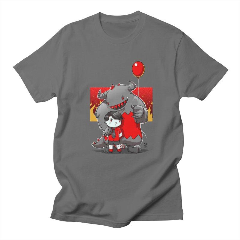 Damien: Best Friends Men's T-Shirt by Little Ninja Studios, LLC