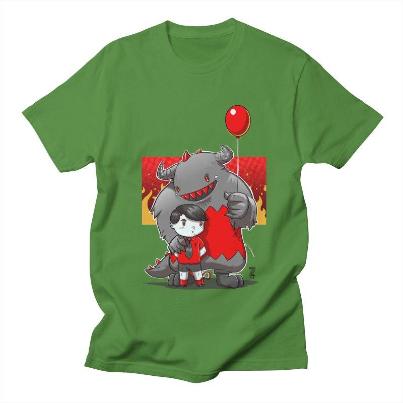 Damien: Best Friends Women's Regular Unisex T-Shirt by Little Ninja Studios, LLC