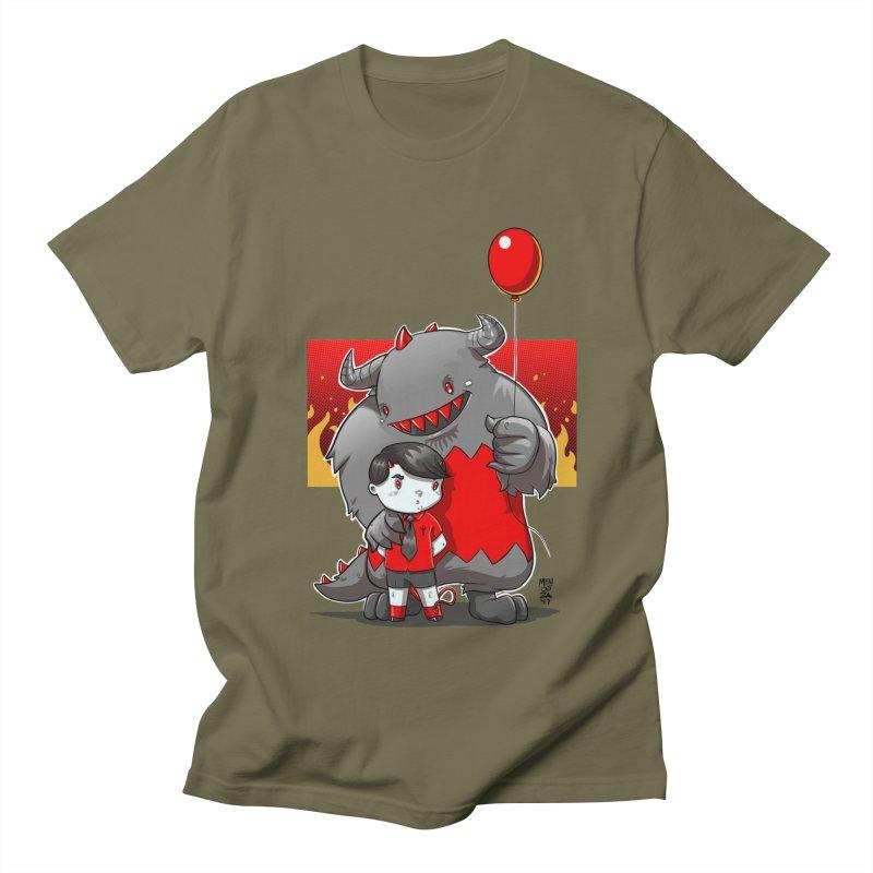 Damien: Best Friends Women's Regular Unisex T-Shirt by Little Ninja Studios