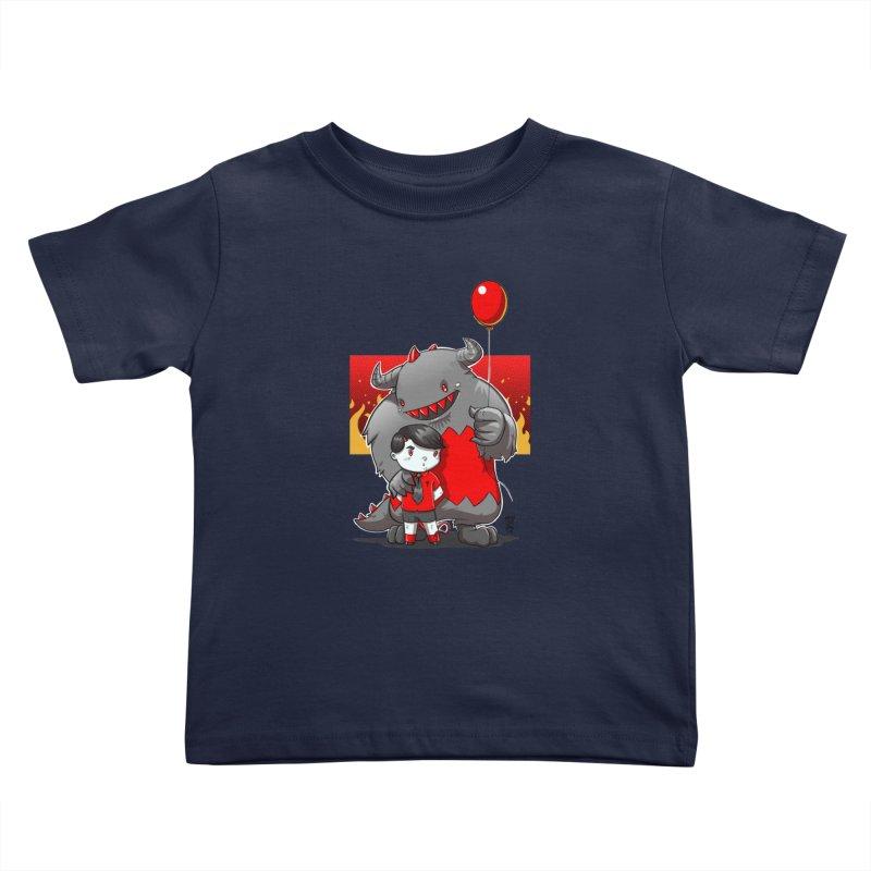Damien: Best Friends Kids Toddler T-Shirt by Little Ninja Studios, LLC