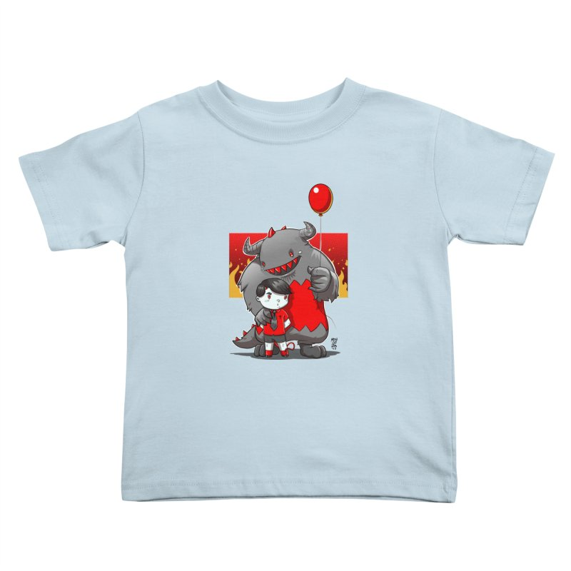 Damien: Best Friends Kids Toddler T-Shirt by Little Ninja Studios