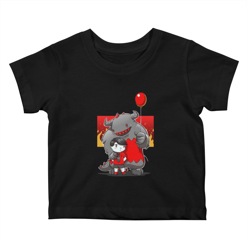 Damien: Best Friends Kids Baby T-Shirt by Little Ninja Studios, LLC