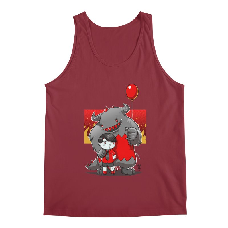 Damien: Best Friends Men's Tank by Little Ninja Studios