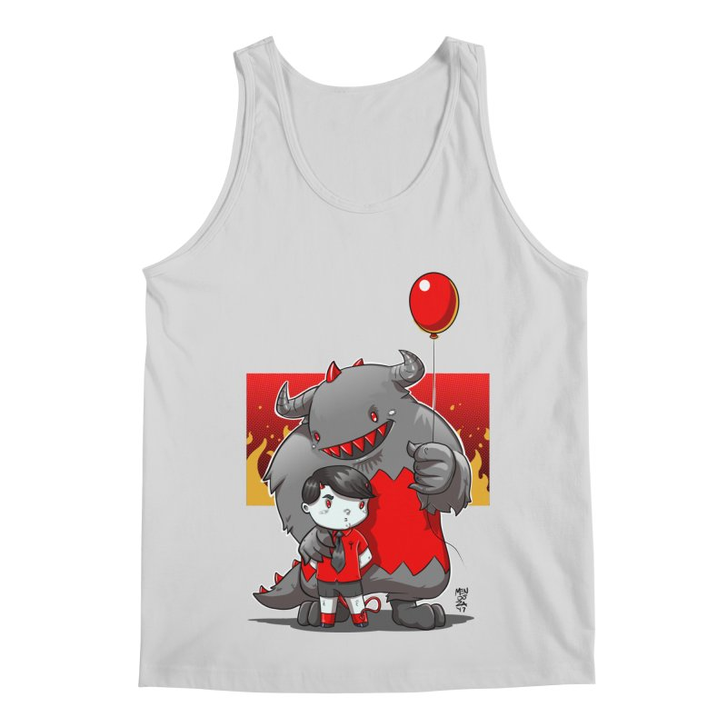 Damien: Best Friends Men's Regular Tank by Little Ninja Studios, LLC
