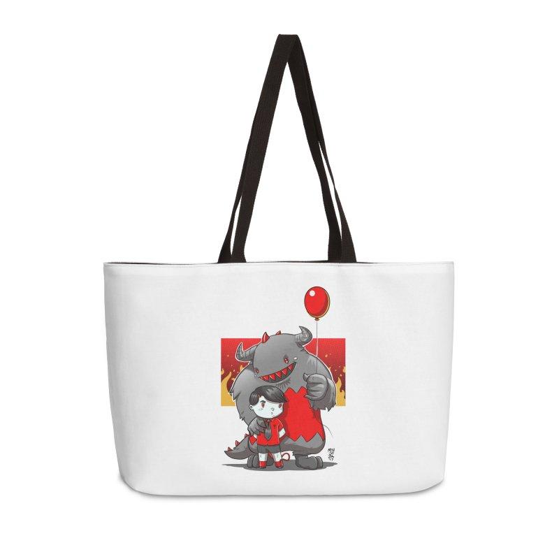 Damien: Best Friends Accessories Weekender Bag Bag by Little Ninja Studios, LLC