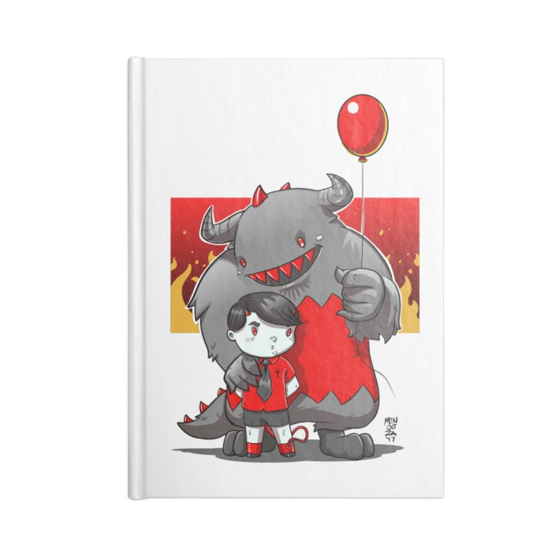 Damien: Best Friends Accessories Blank Journal Notebook by Little Ninja Studios, LLC
