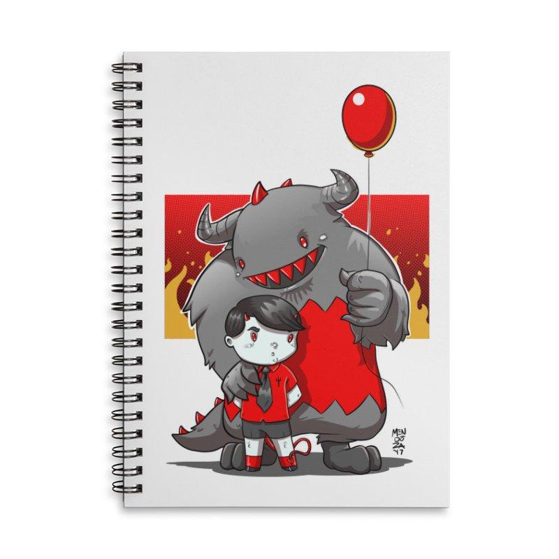 Damien: Best Friends Accessories Lined Spiral Notebook by Little Ninja Studios, LLC