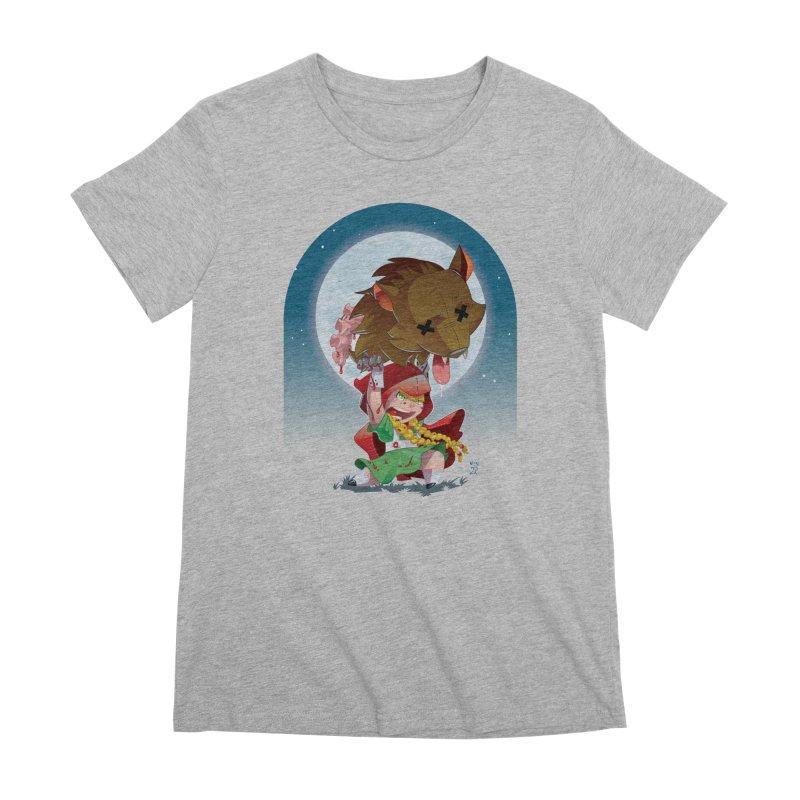 Lil' Red Women's Premium T-Shirt by Little Ninja Studios