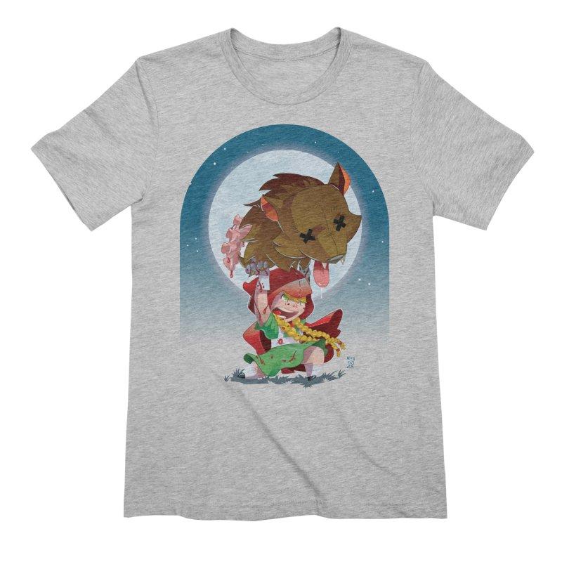 Lil' Red Men's Extra Soft T-Shirt by Little Ninja Studios