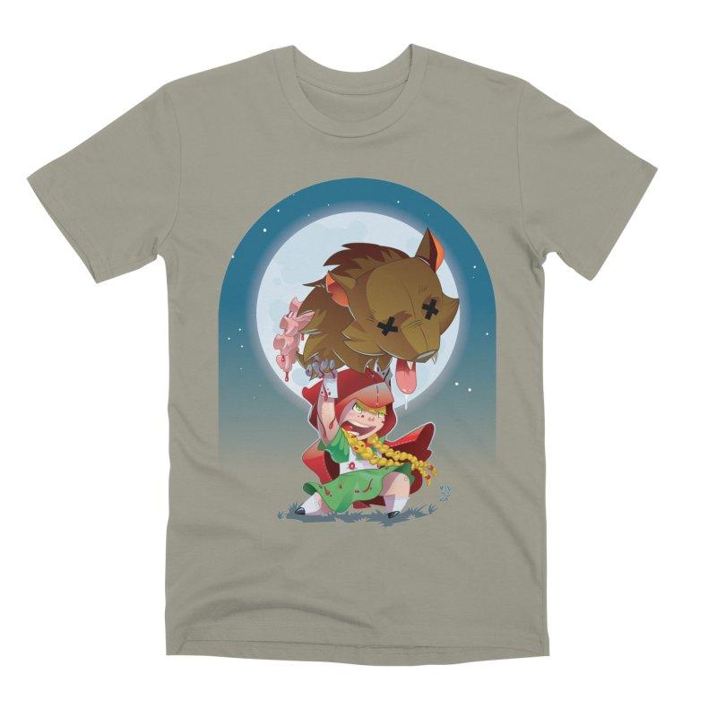Lil' Red Men's Premium T-Shirt by Little Ninja Studios