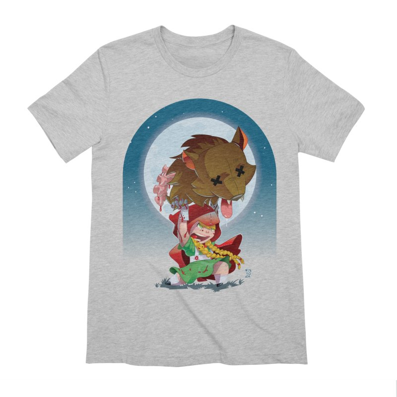 Lil' Red Men's Extra Soft T-Shirt by Little Ninja Studios, LLC