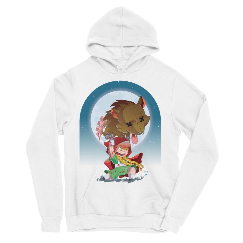 Lil' Red Men's Sponge Fleece Pullover Hoody by Little Ninja Studios, LLC