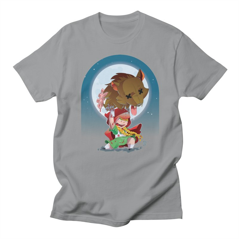 Lil' Red Women's Regular Unisex T-Shirt by Little Ninja Studios, LLC