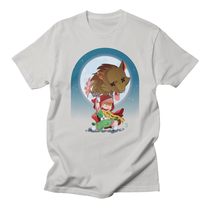 Lil' Red Men's T-Shirt by Little Ninja Studios, LLC