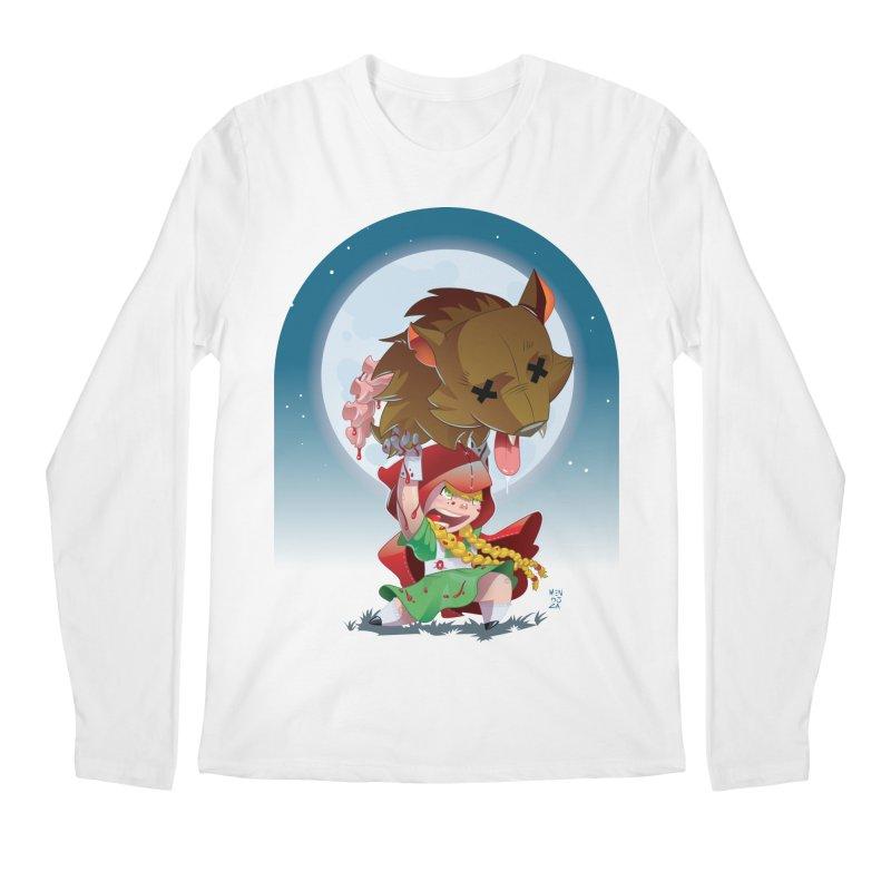 Lil' Red Men's Regular Longsleeve T-Shirt by Little Ninja Studios