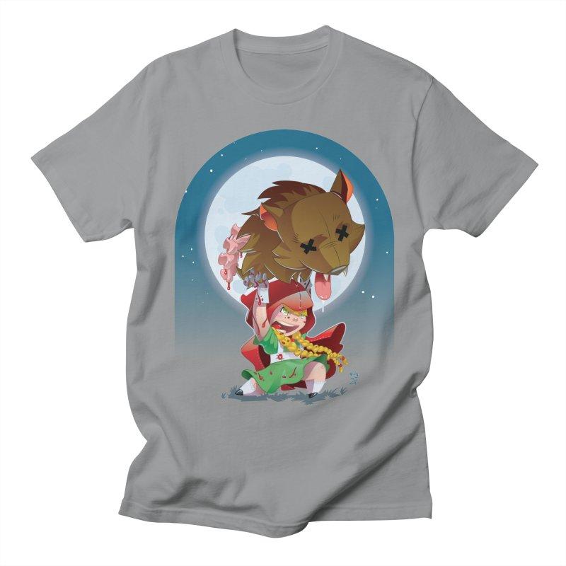 Lil' Red Women's Regular Unisex T-Shirt by Little Ninja Studios
