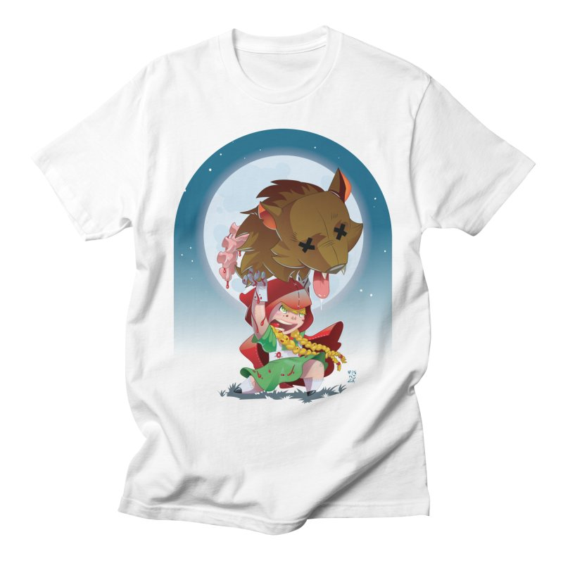 Lil' Red Women's Regular Unisex T-Shirt by Little Ninja Studios, LLC