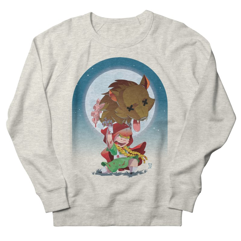 Lil' Red Men's French Terry Sweatshirt by Little Ninja Studios
