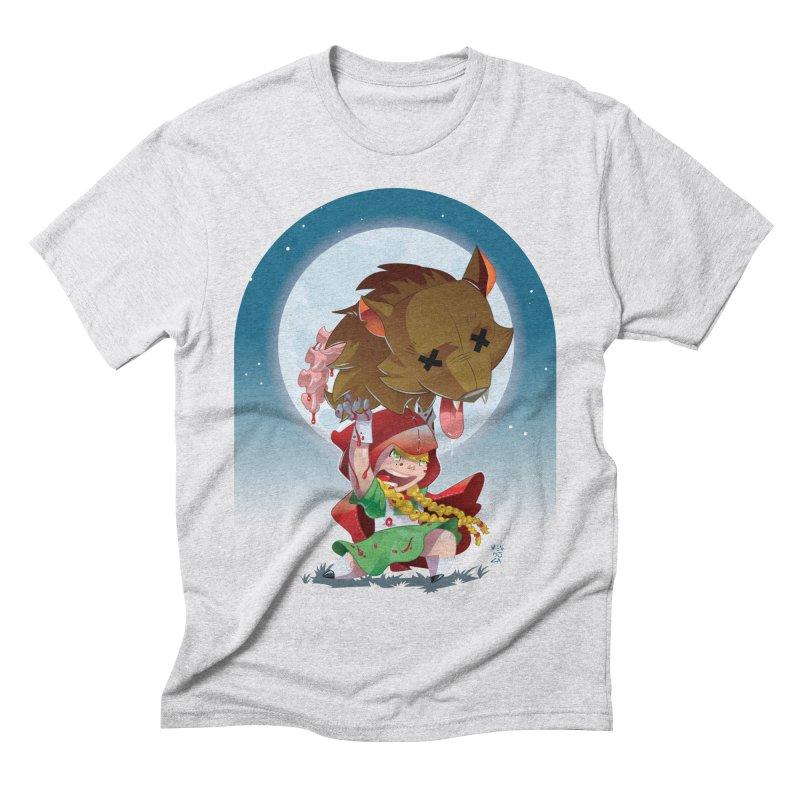 Lil' Red Men's Triblend T-Shirt by Little Ninja Studios