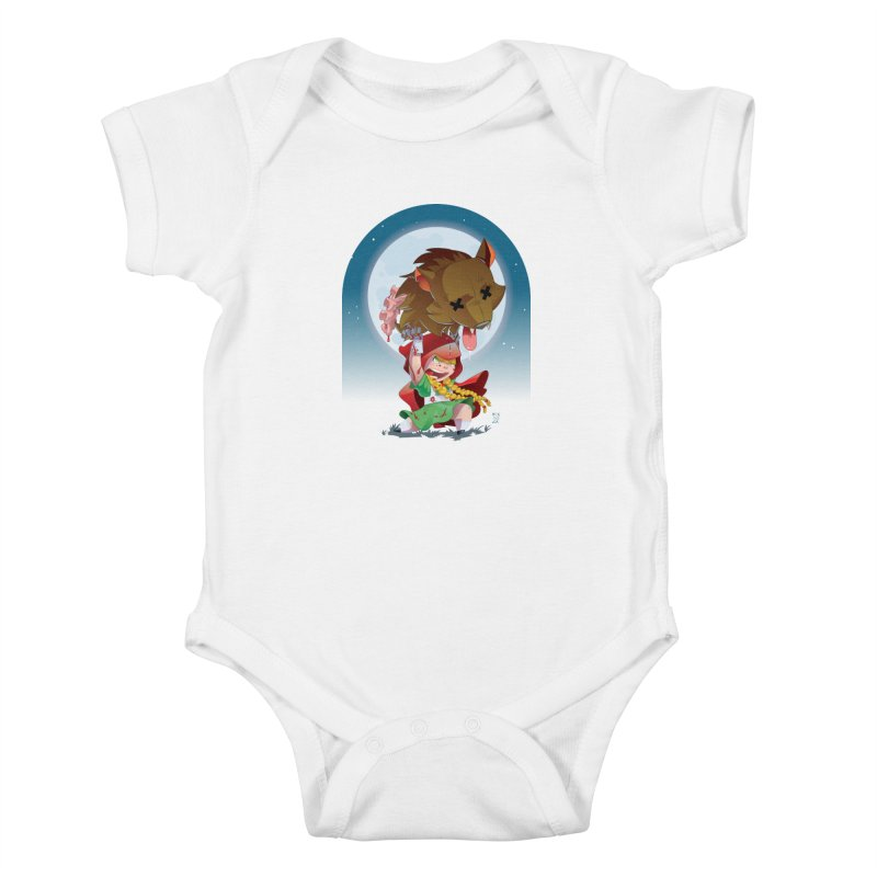 Lil' Red Kids Baby Bodysuit by Little Ninja Studios