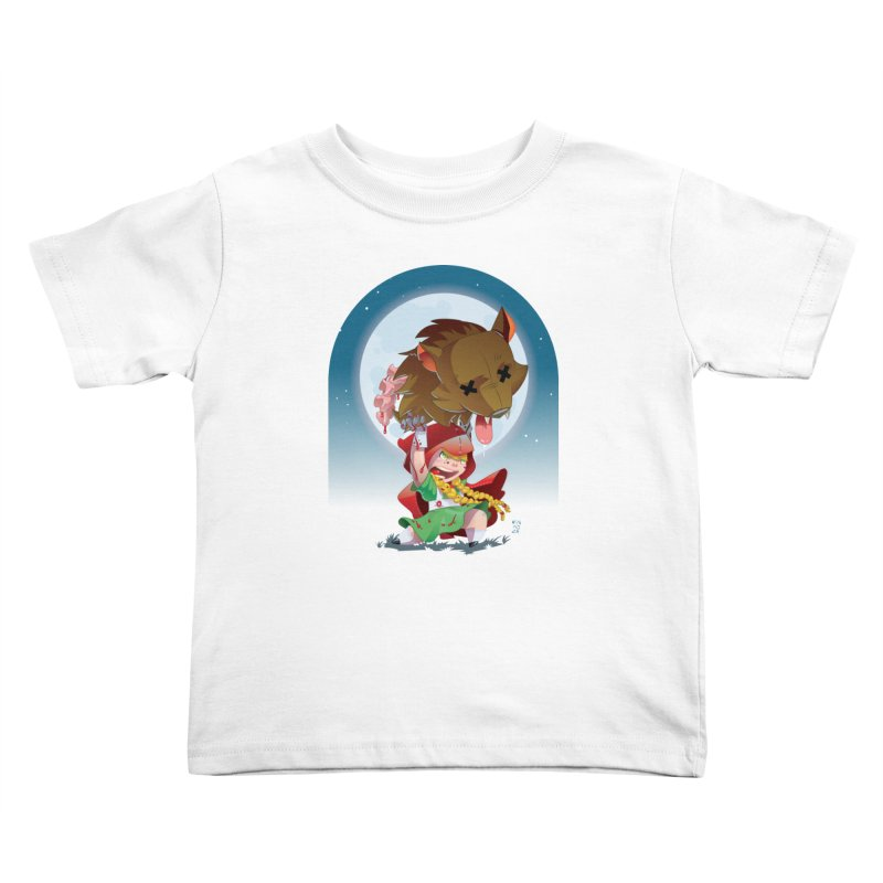 Lil' Red Kids Toddler T-Shirt by Little Ninja Studios