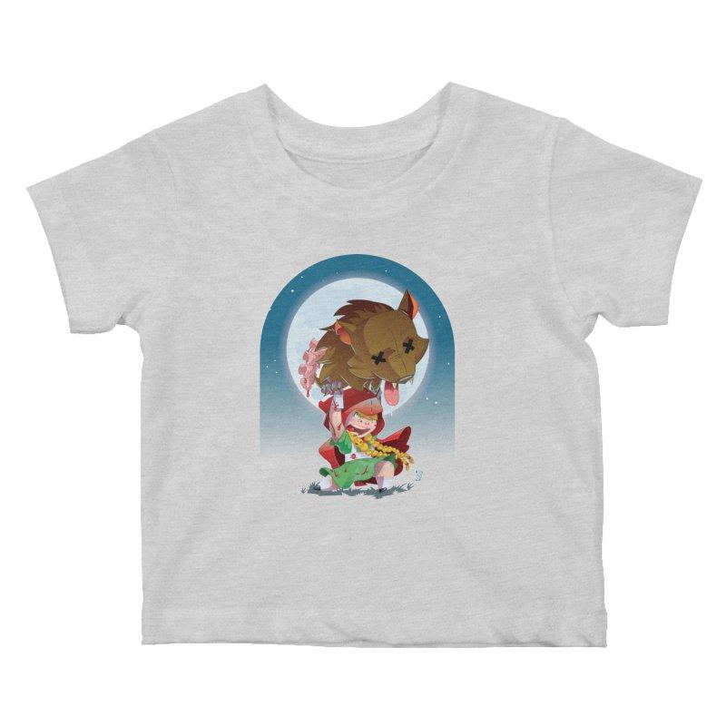 Lil' Red Kids Baby T-Shirt by Little Ninja Studios, LLC