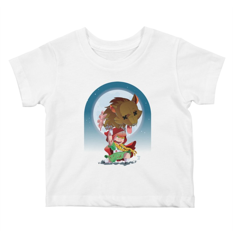 Lil' Red Kids Baby T-Shirt by Little Ninja Studios, LLC