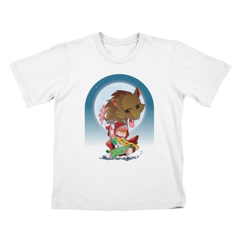Lil' Red Kids T-Shirt by Little Ninja Studios, LLC