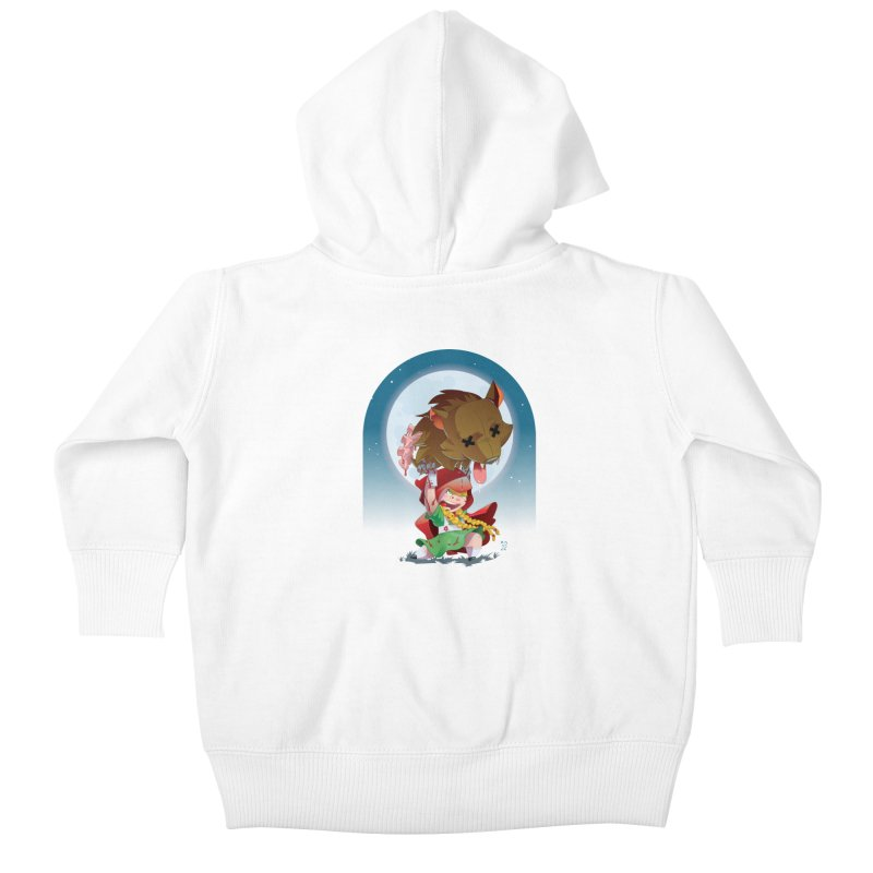 Lil' Red Kids Baby Zip-Up Hoody by Little Ninja Studios