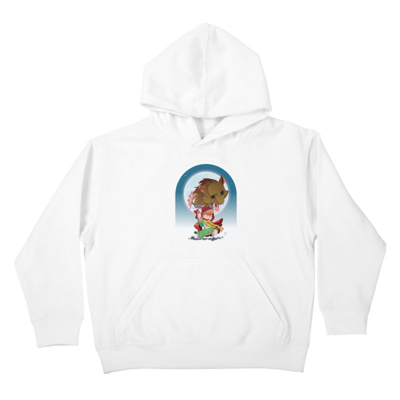 Lil' Red Kids Pullover Hoody by Little Ninja Studios, LLC