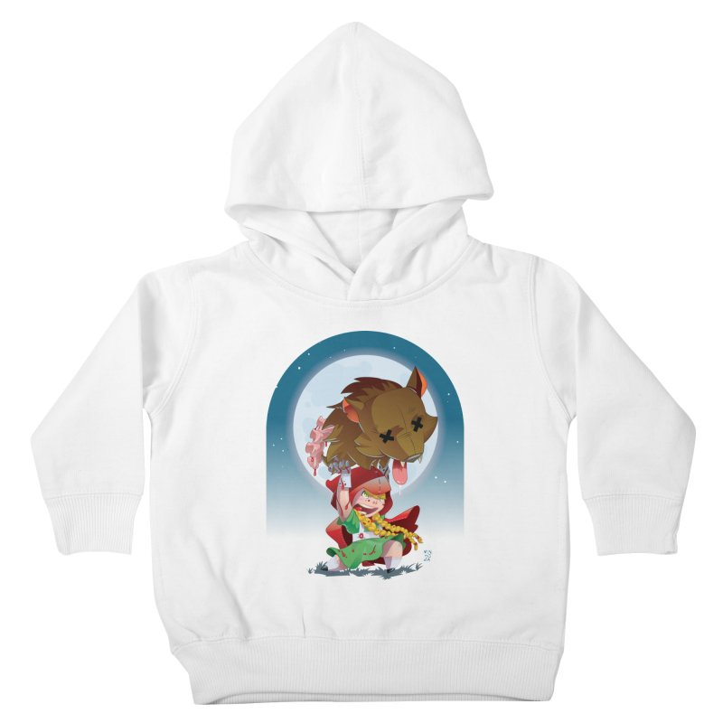 Lil' Red Kids Toddler Pullover Hoody by Little Ninja Studios, LLC