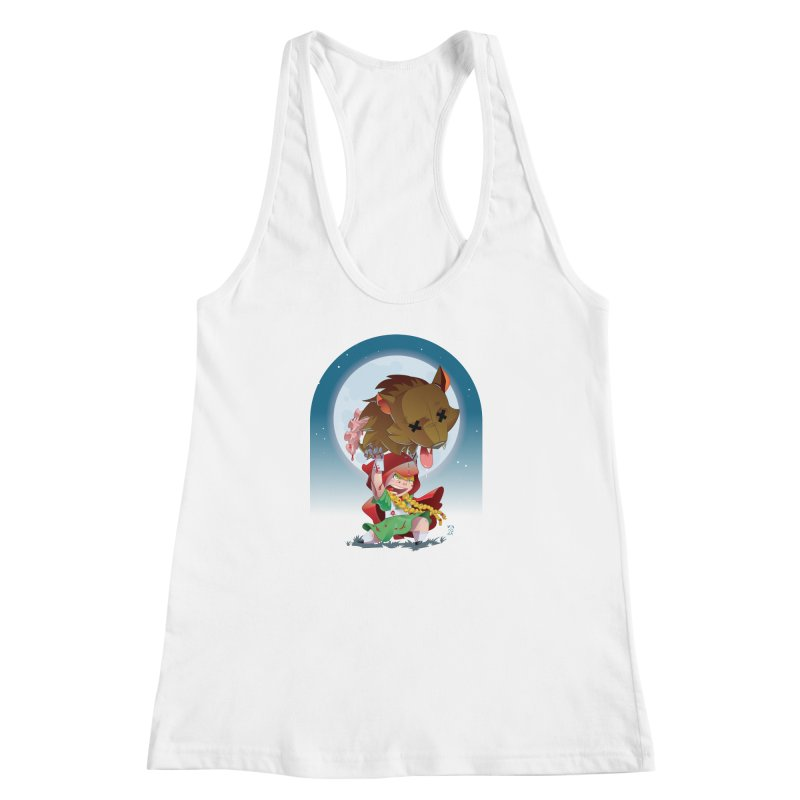 Lil' Red Women's Racerback Tank by Little Ninja Studios, LLC