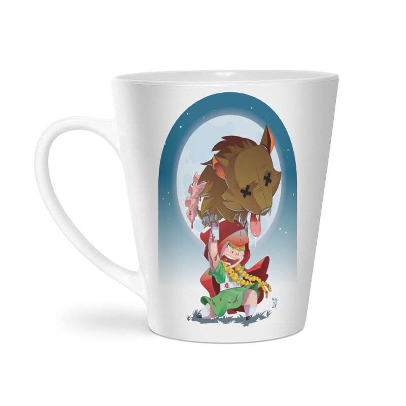 Lil' Red Accessories Latte Mug by Little Ninja Studios, LLC