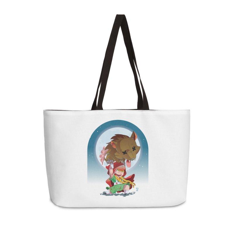 Lil' Red Accessories Weekender Bag Bag by Little Ninja Studios, LLC