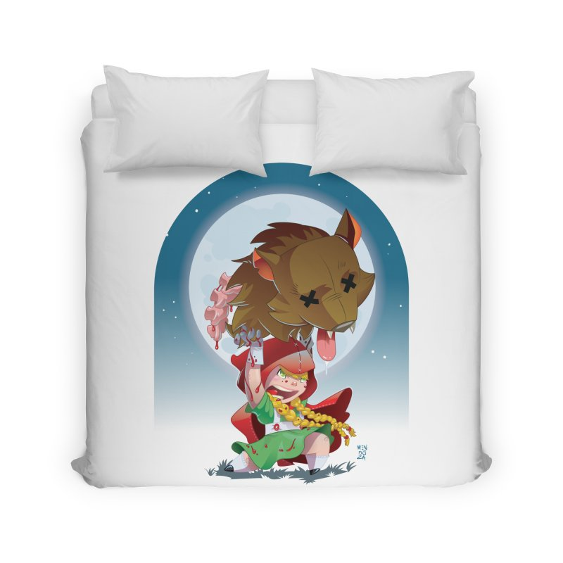 Lil' Red Home Duvet by Little Ninja Studios, LLC