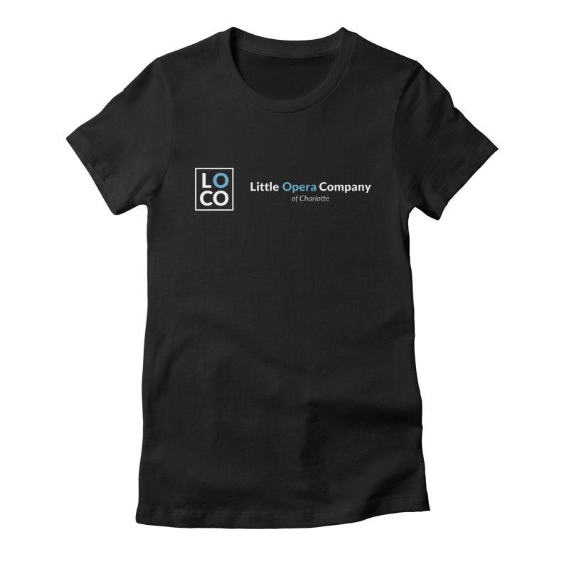 LOCO Logo - Dark Women's T-Shirt by The Little Opera Company Swag Shop