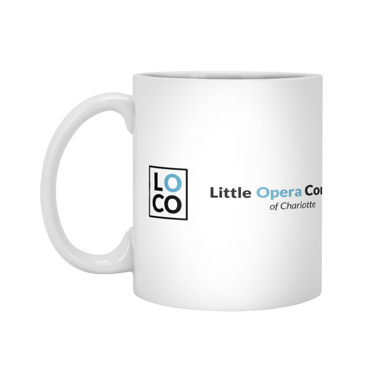 LOCO Logo - Light Accessories Mug by The Little Opera Company Swag Shop