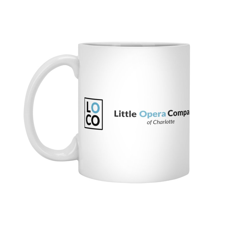 LOCO Logo - Light Accessories Standard Mug by The Little Opera Company Swag Shop